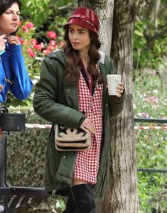 Emily-in-Paris-Lily-Collins-Green-Jacket