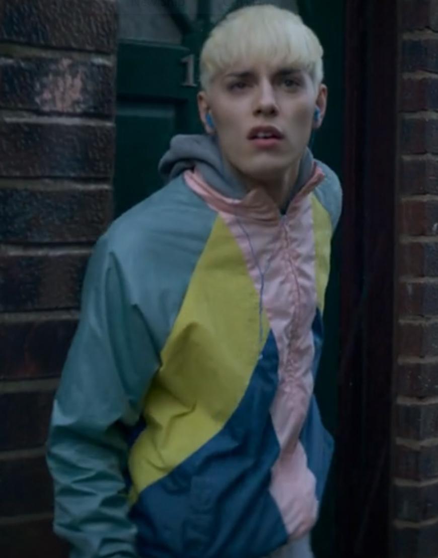 Everybody's Talking About Jamie Max Harwood Satin Jacket