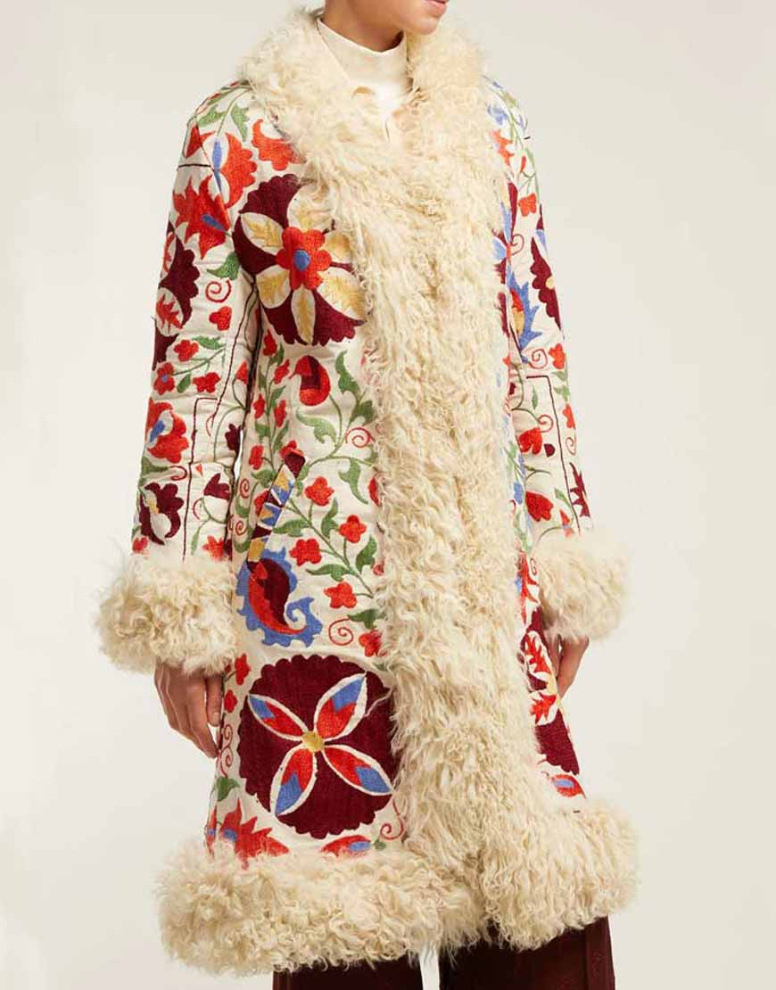 Floral-Embroidered-Shearling-Coat
