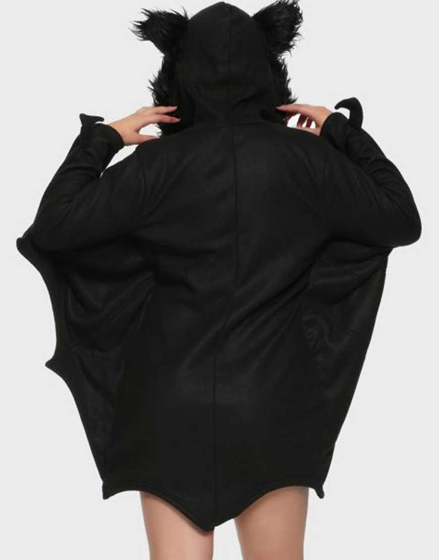 Girl-Bat-Black-Hooded-Costume-Jacket