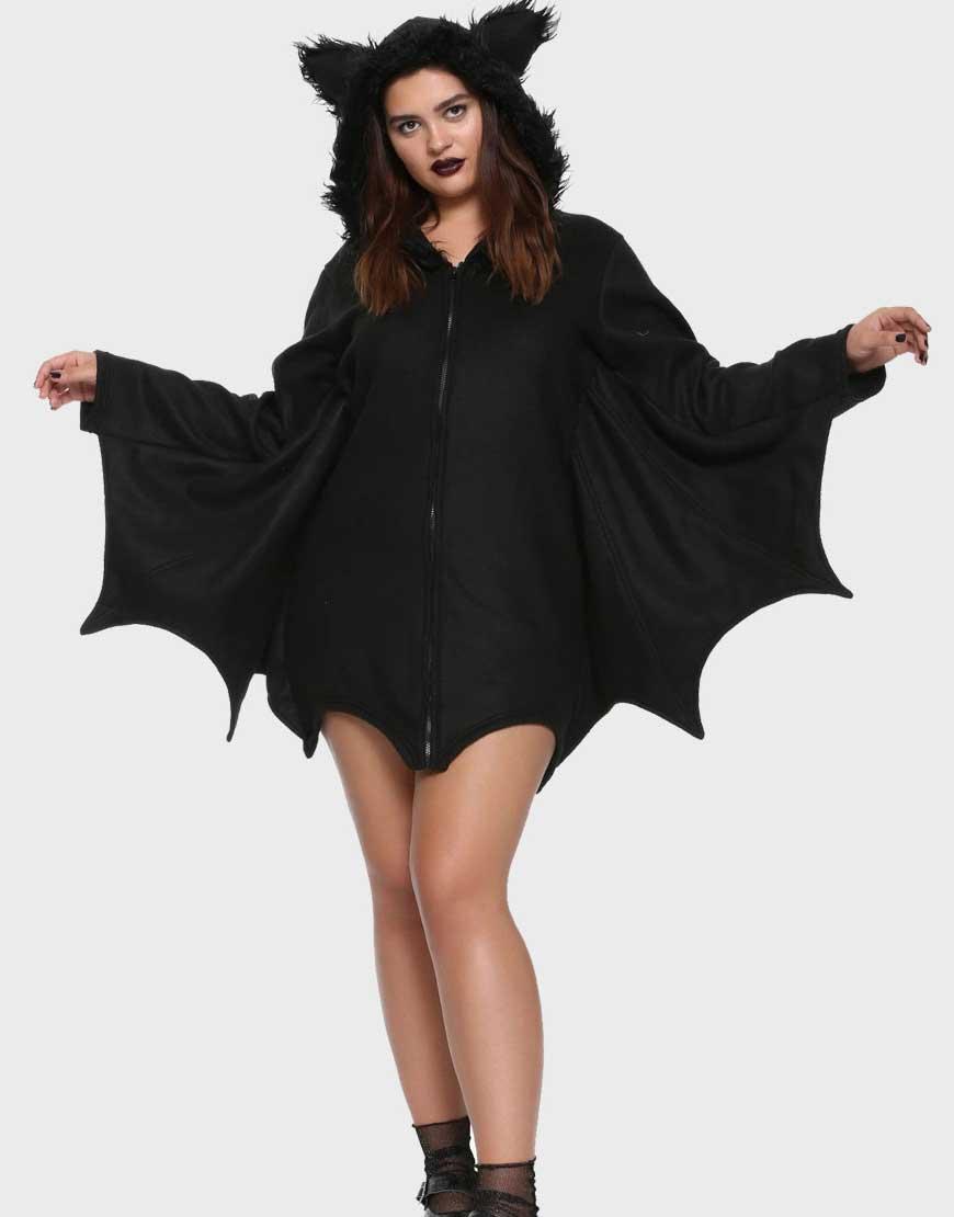 Girl-Bat-Black-Jacket