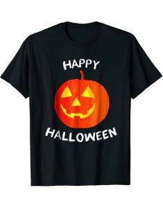 Halloween-Pumpkin-T-Shirt