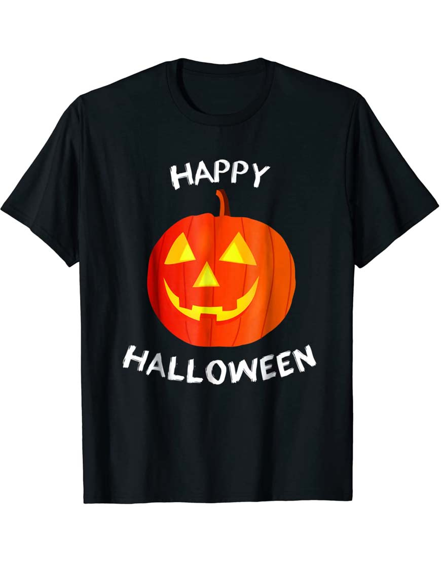 Halloween-Pumpkin-T-Shirt