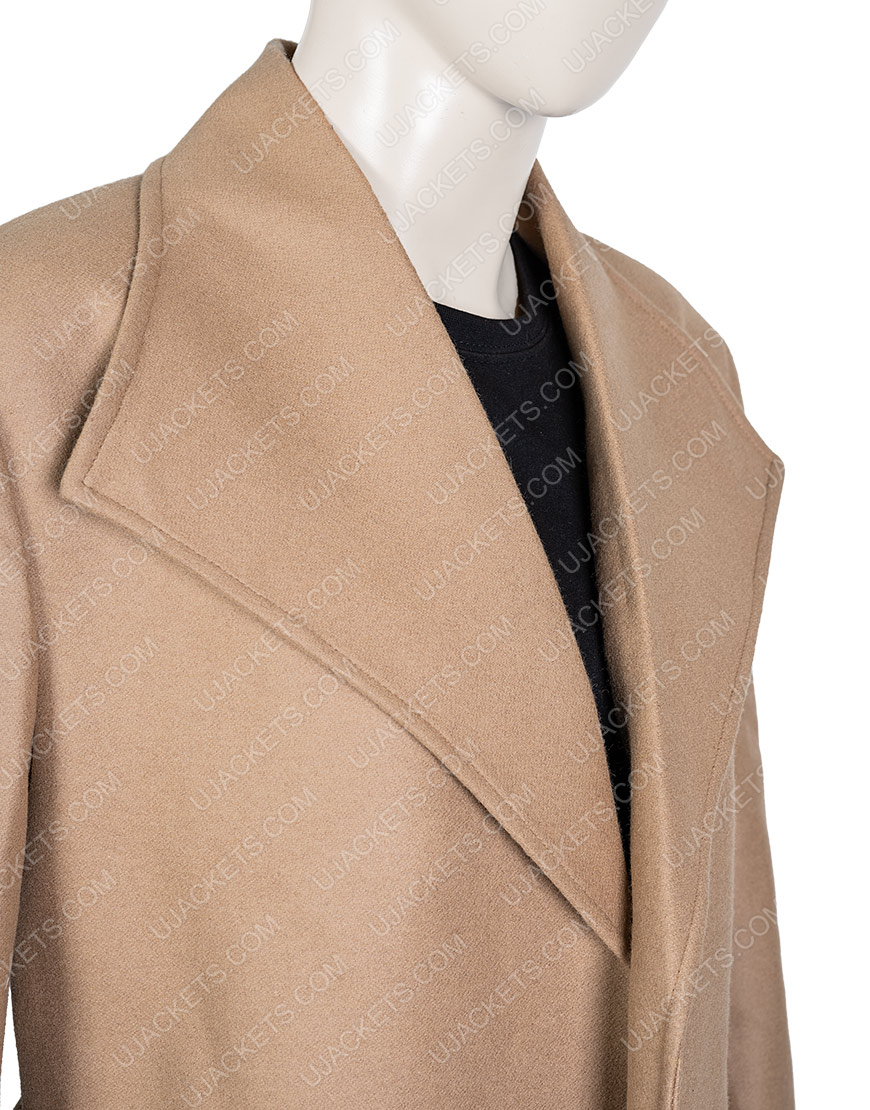 Heather GrahamLove, Guaranteed Tamara Taylor Trench Brown 'Coat
