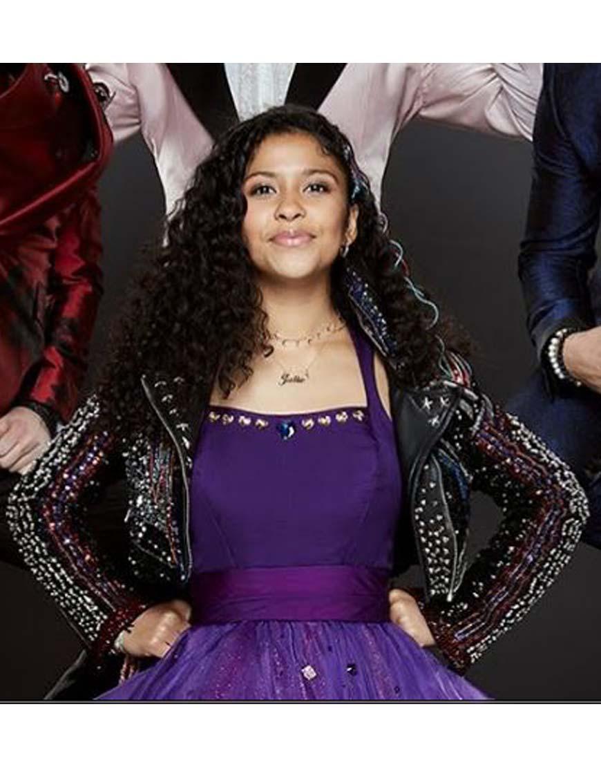 Julie-and-the-Phantoms-Madison-Reyes-Black-Jacket