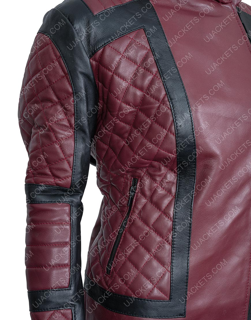 Kirby Howell-Baptiste Why Women Kill Taylor Harding Hooded Quilted Jacket