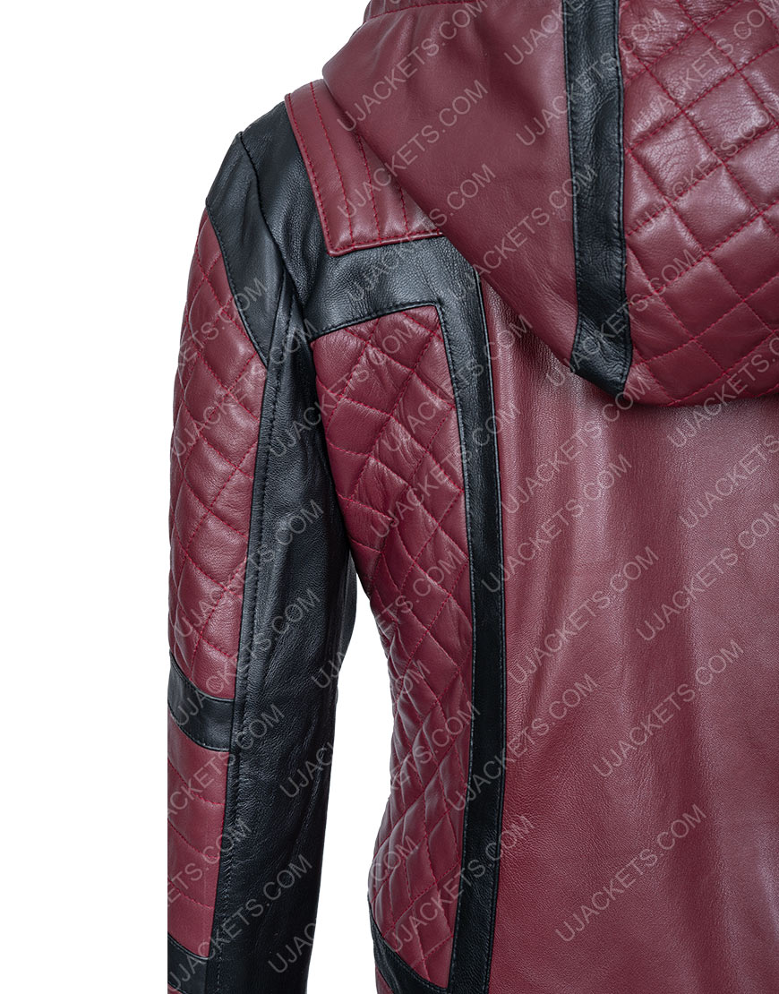 Kirby Howell-Baptiste Why Women Kill Taylor Harding Quilted Hoodie Jacket
