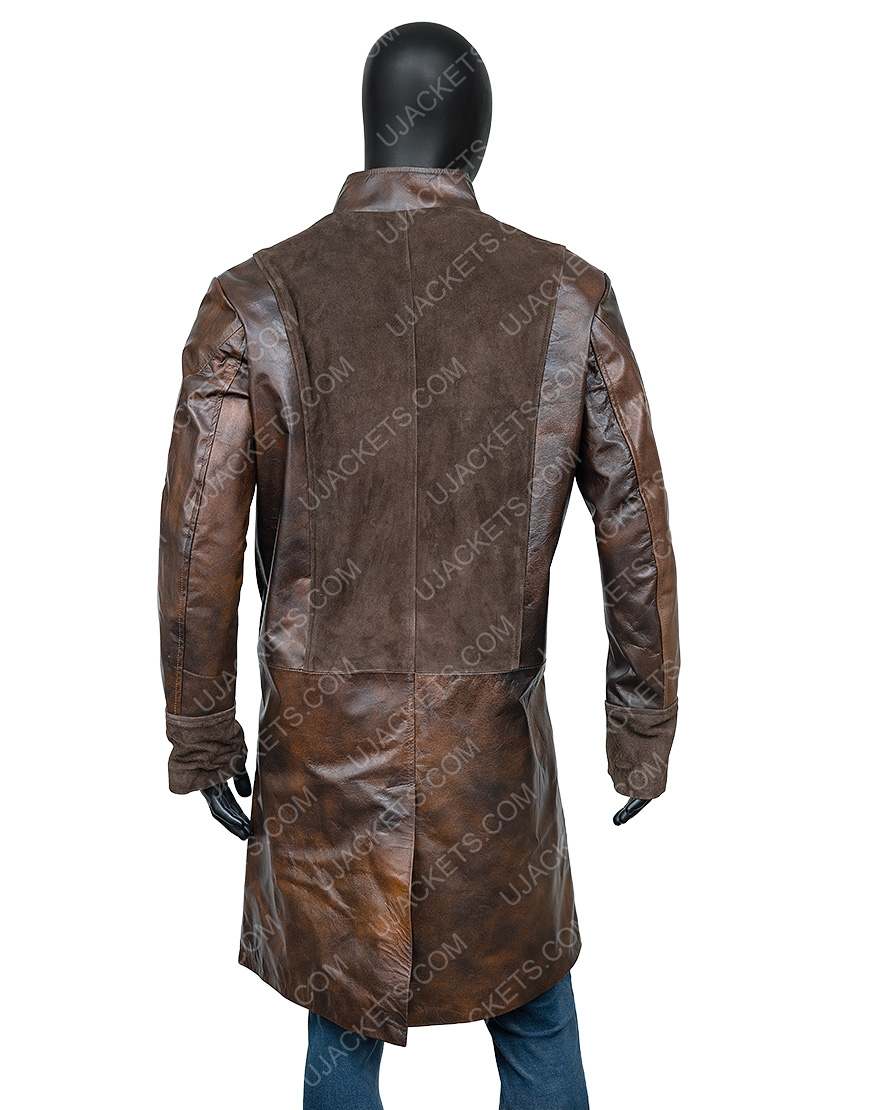 La Revolution Albert Guillotin Leather Coat