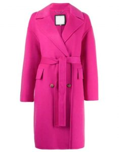 Lily Collins Emily in Paris Pink Coat