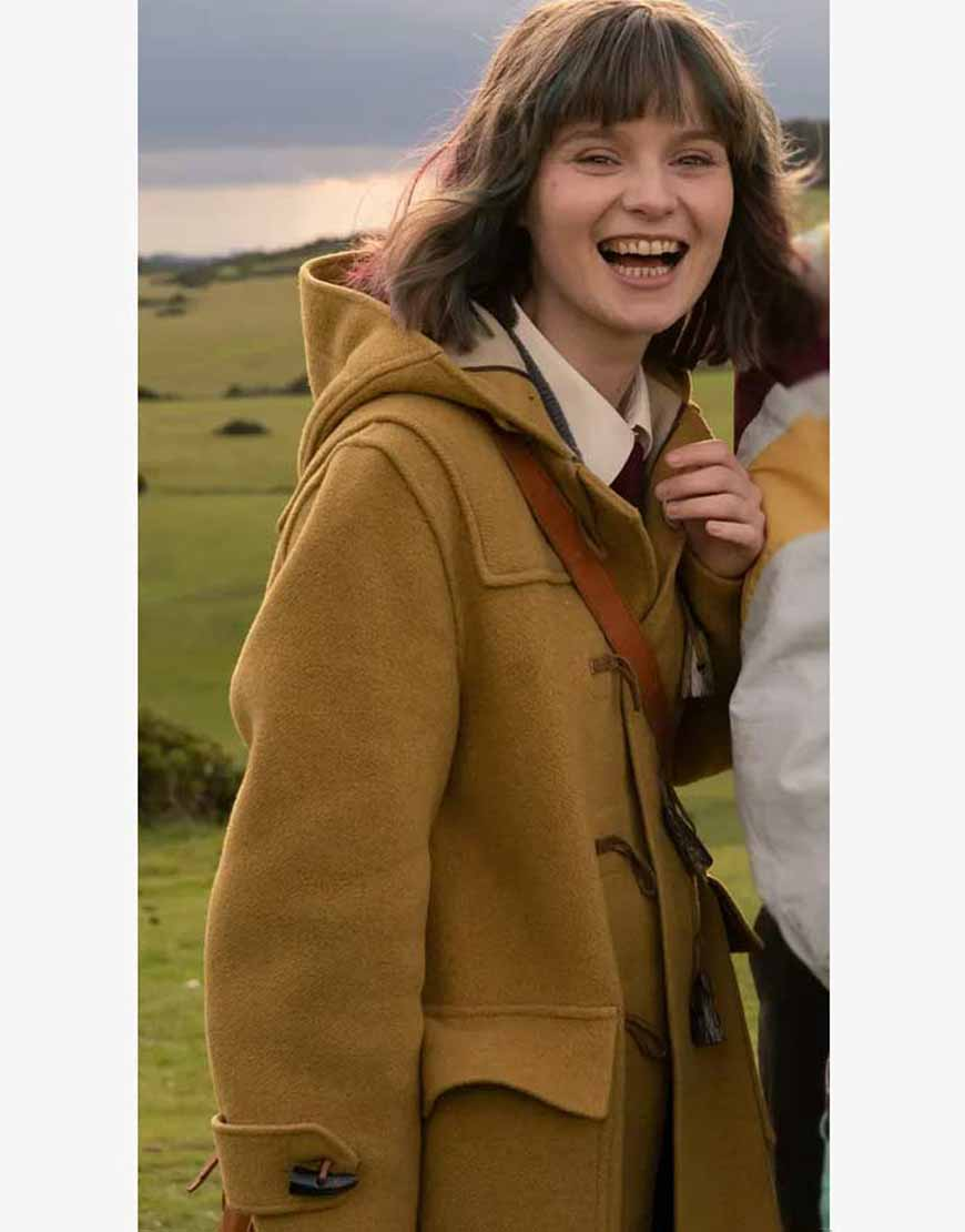 Lola-Petticrew-Dating-Amber-Hooded-Coat