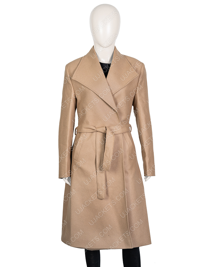 Love, Guaranteed Tamara Taylor Trench Coat