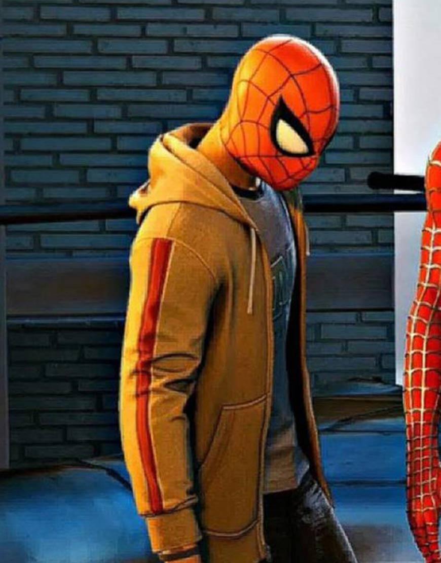 Marvel-Spider-Man-PS4-Miles-Morales-Brown-Hoodie