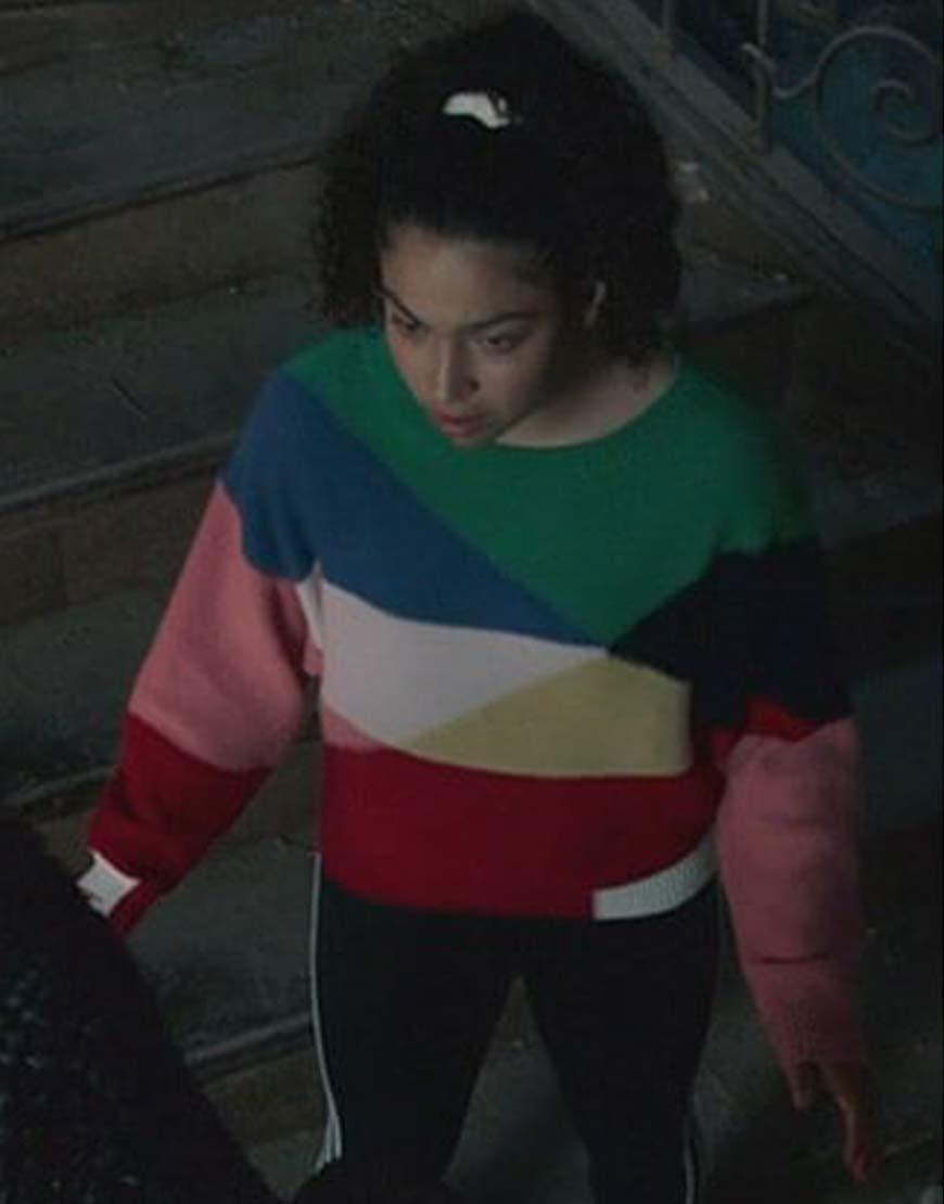 Marvels-Runaways-Allegra-Acosta-ColorBlock-Sweater