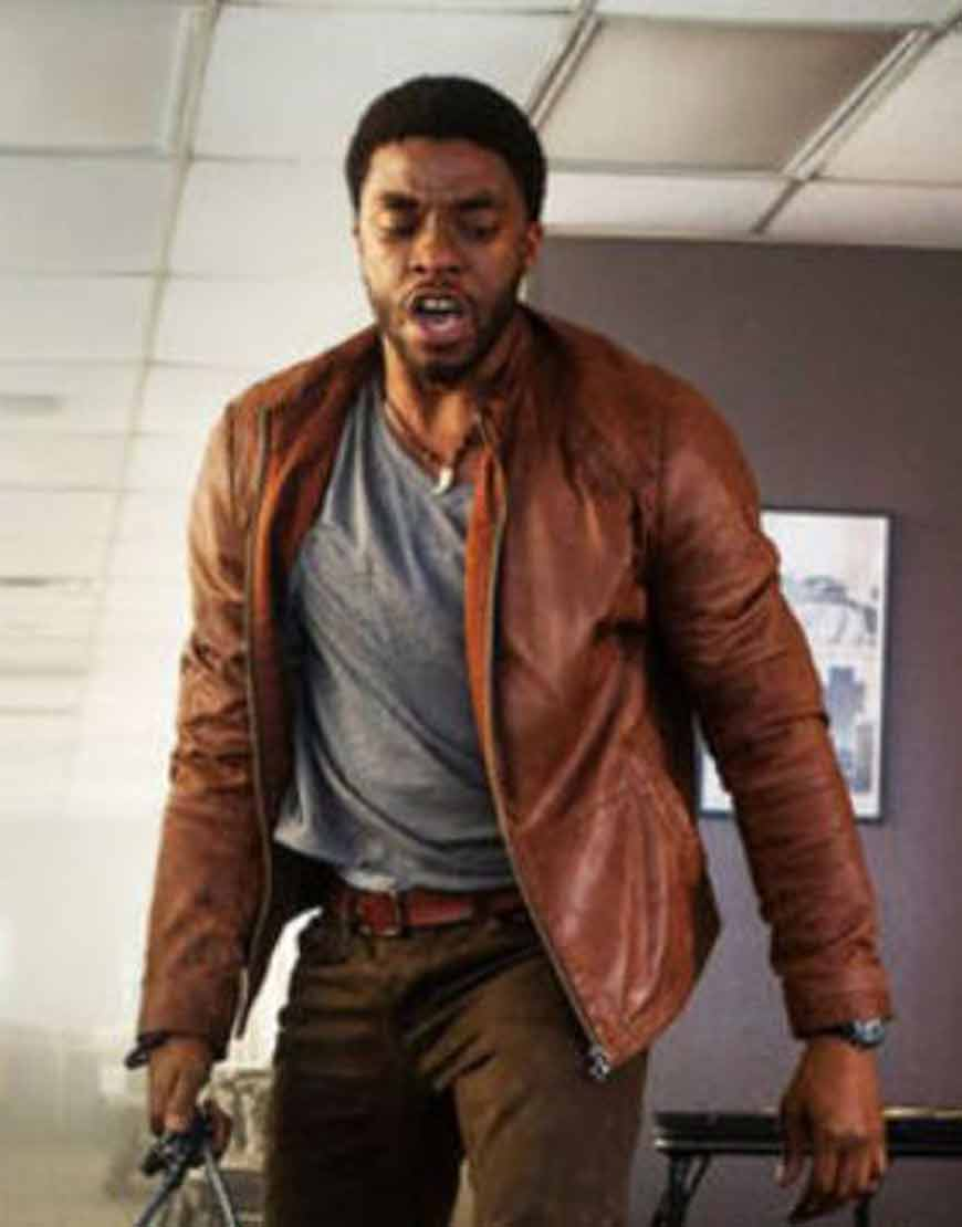 Message-from-the-King-Chadwick-Boseman-Brown-Leather-Jacket