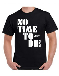No-Time-To-Die-Tshirt