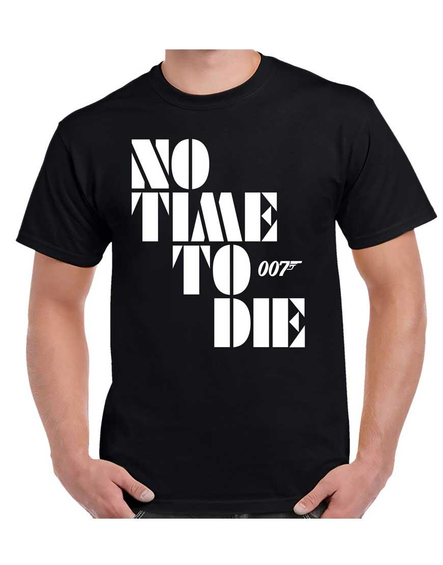 No-Time-To-Die-Tshirt