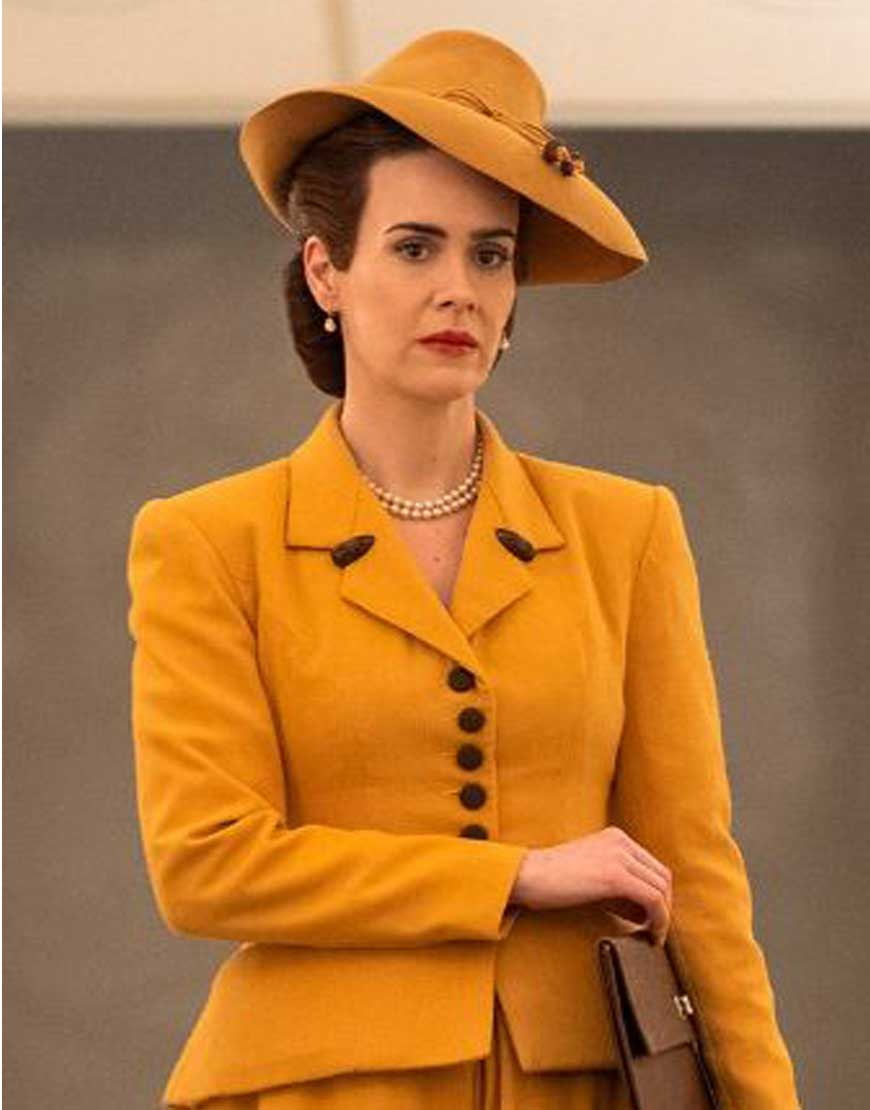Nurse-Mildred-Ratched-Yellow-Blazer-Coat