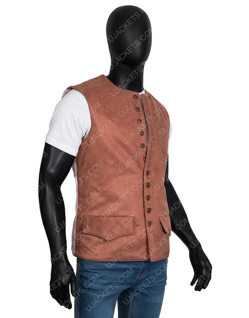 Outlander Jamie Fraser Brown Vest