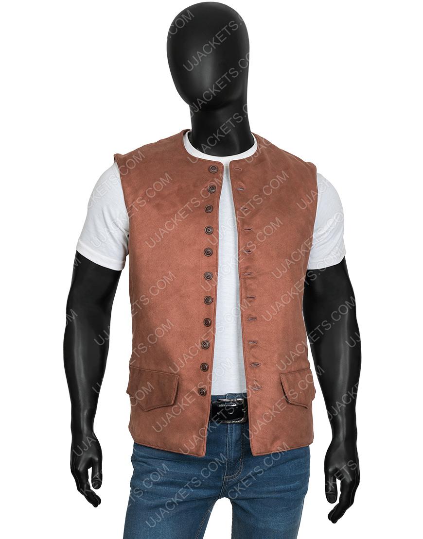 Outlander S03 Jamie Fraser Brown Vest