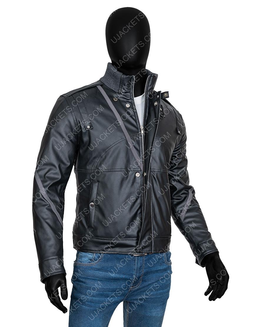 Percy Jackson Sea of Monsters Logan Lerman Black Jacket