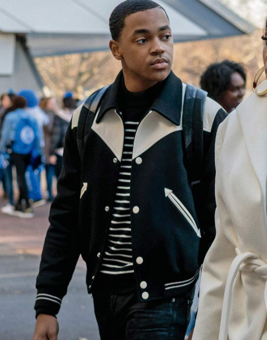 Power-Book-II-Ghost-Michael-Rainey-Jr-Varsity-Jacket