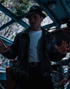 Project-Blue-Book-S02-Michael-Malarkey-Black-Leather-Jacket