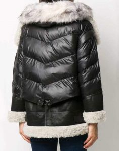 Samantha-Shearling-Black-Padded-Jacket-WithPuffed-Sleeves