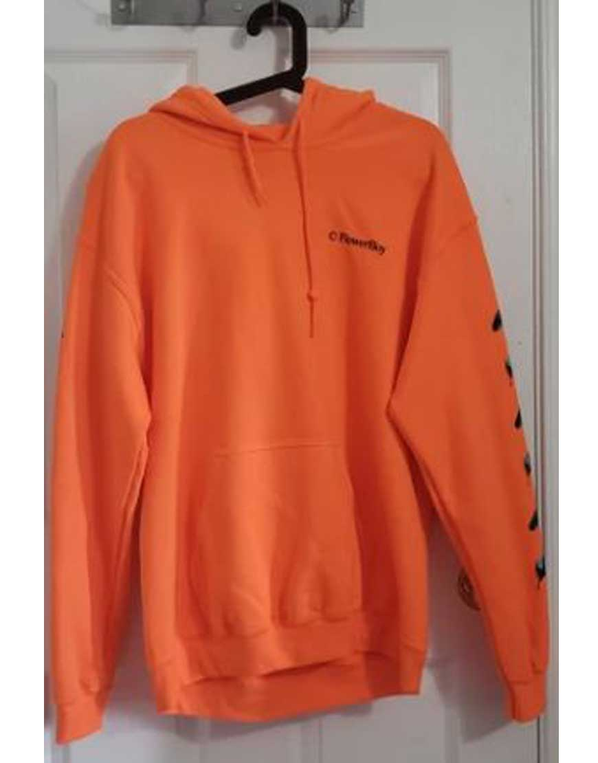 Save-The-Bees-Orange-Hoodie
