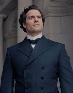 Sherlock-Holmes-Enola-Holmes-Henry-Cavill-Double-Breasted-Coat