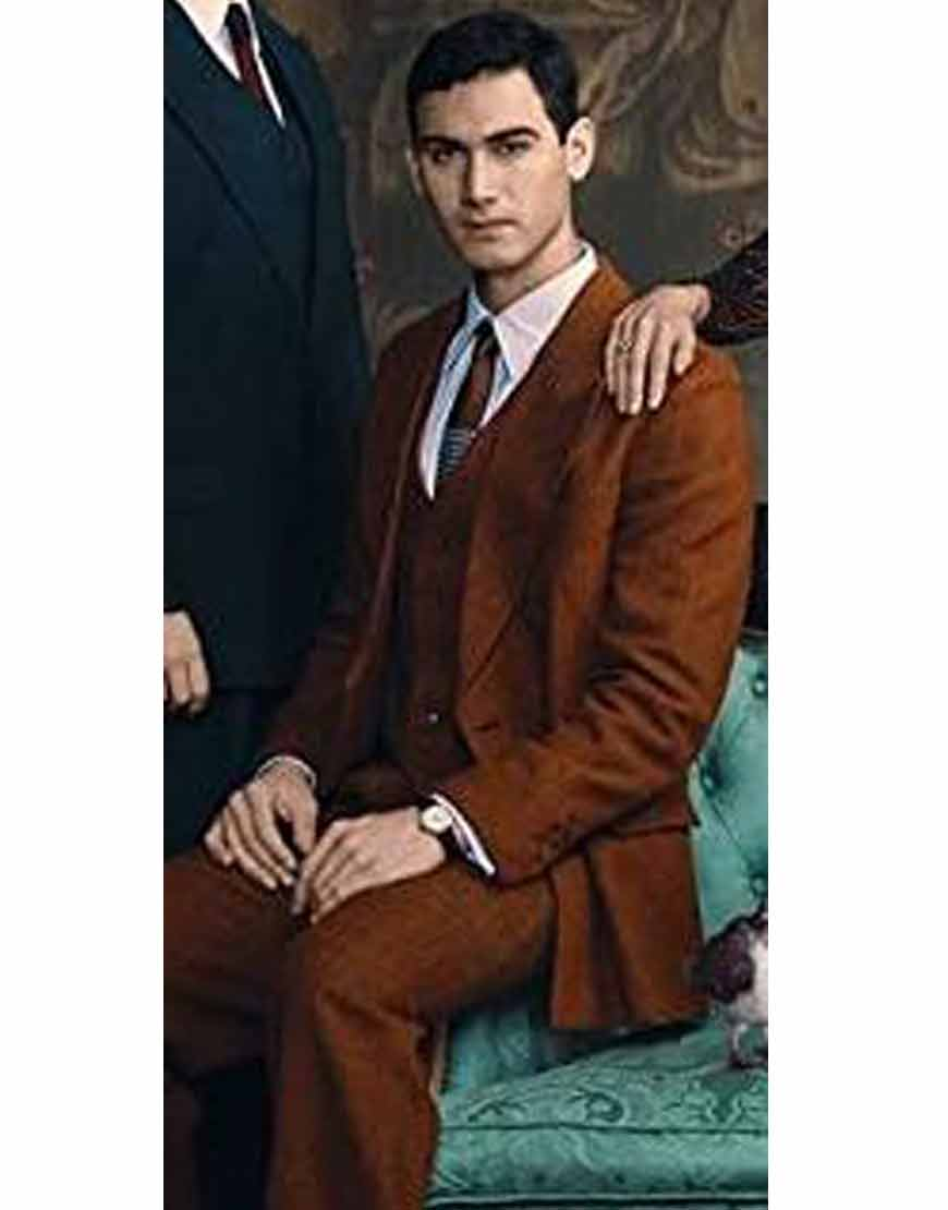 Someone-Has-to-Die-Alejandro-Speitzer-Brown-3pc-Suit