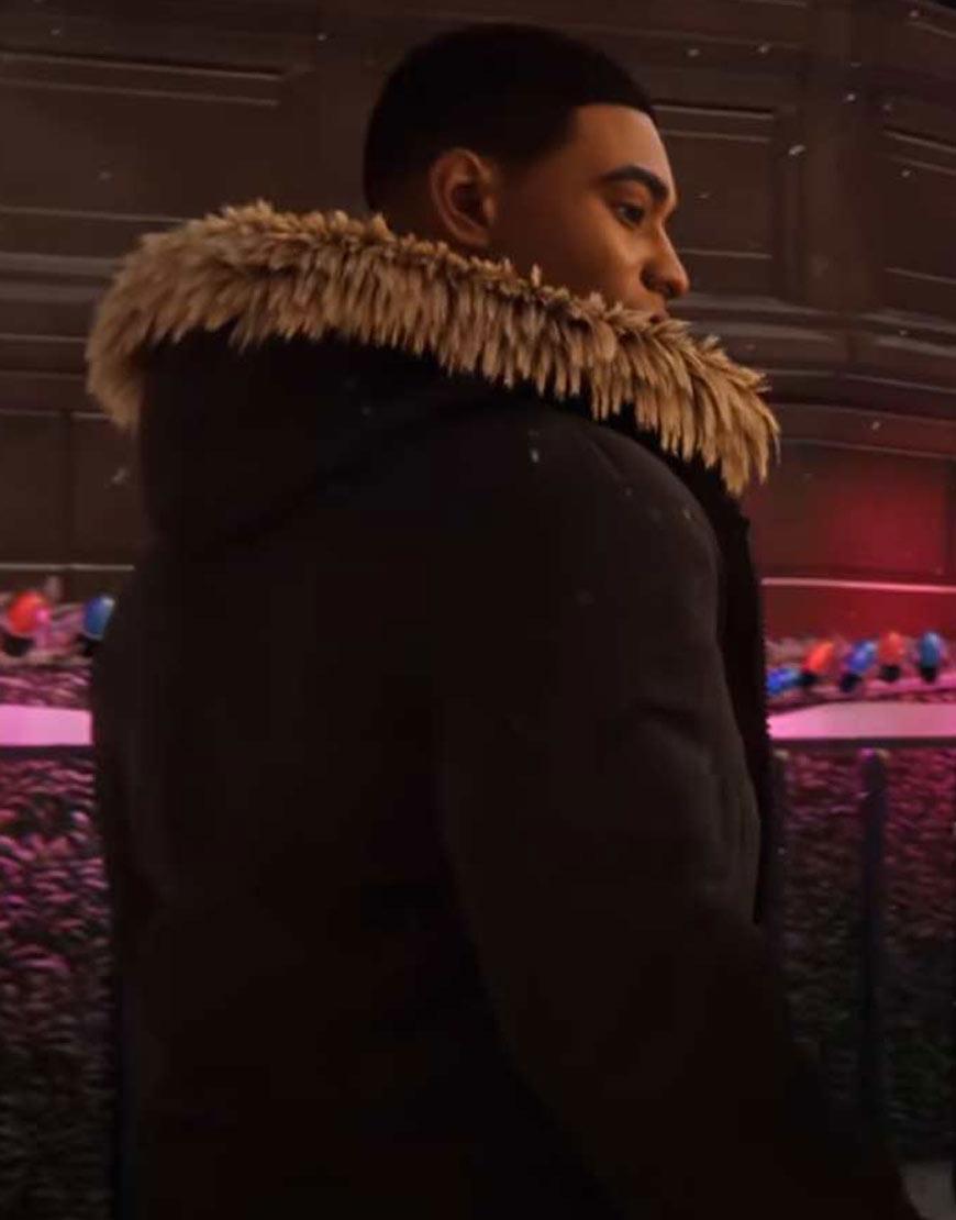 Spider-Man-Miles-Morales-Fur-Hood-Jacket