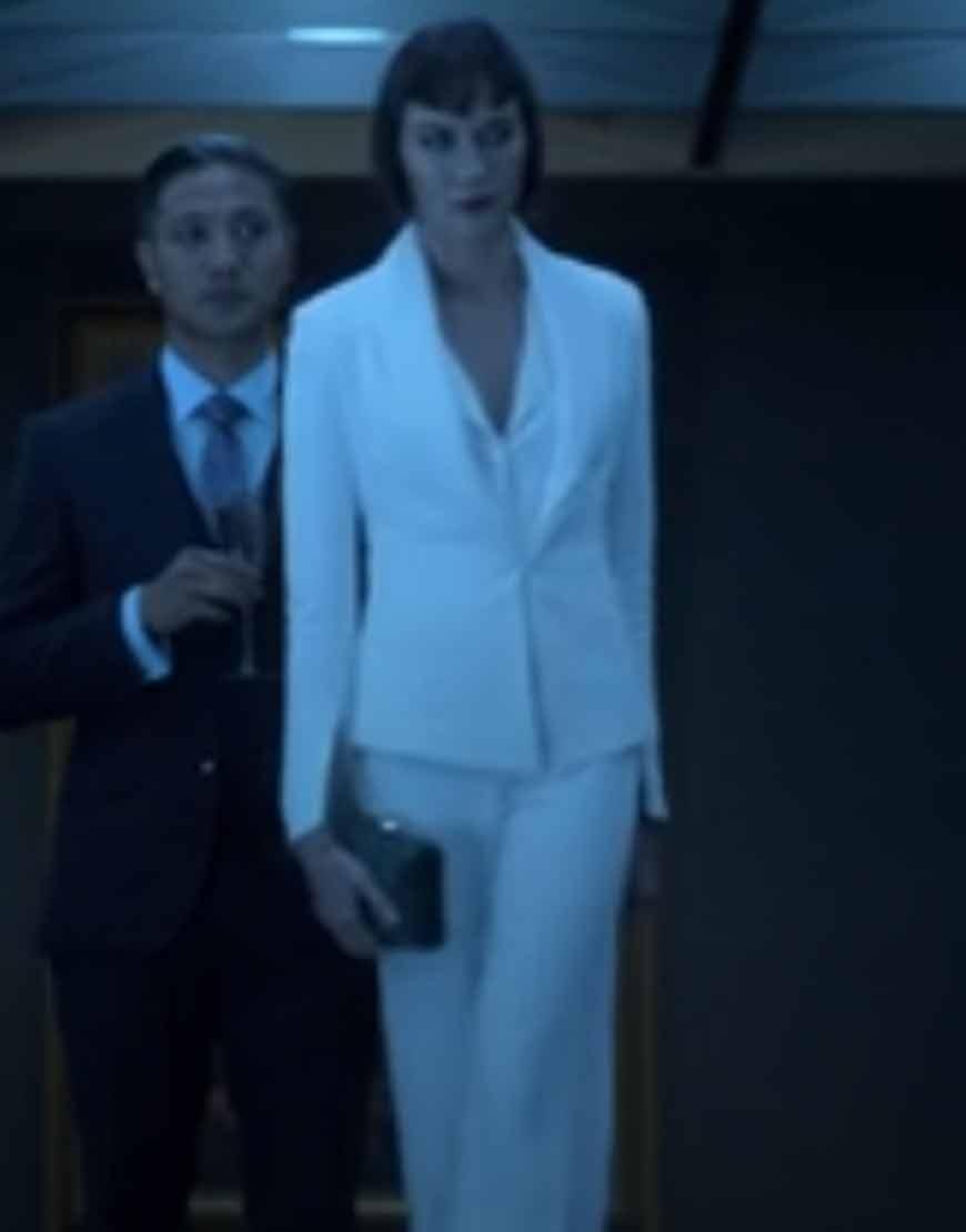 TV-Series-Helstrom-Sydney-Lemmon-Ana-Helstrom-White-Blazer