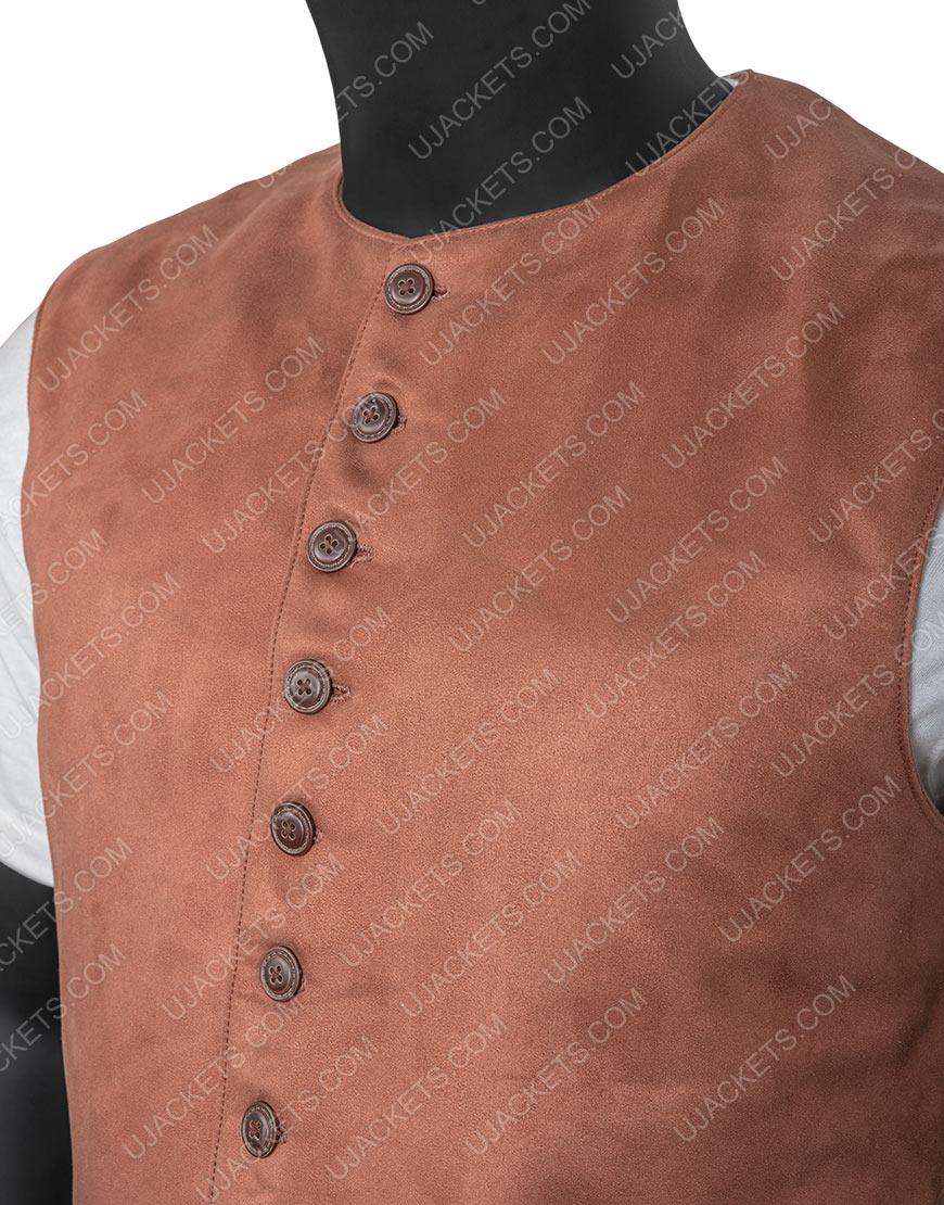 TV-Series Outlander Jamie Fraser Brown Vest