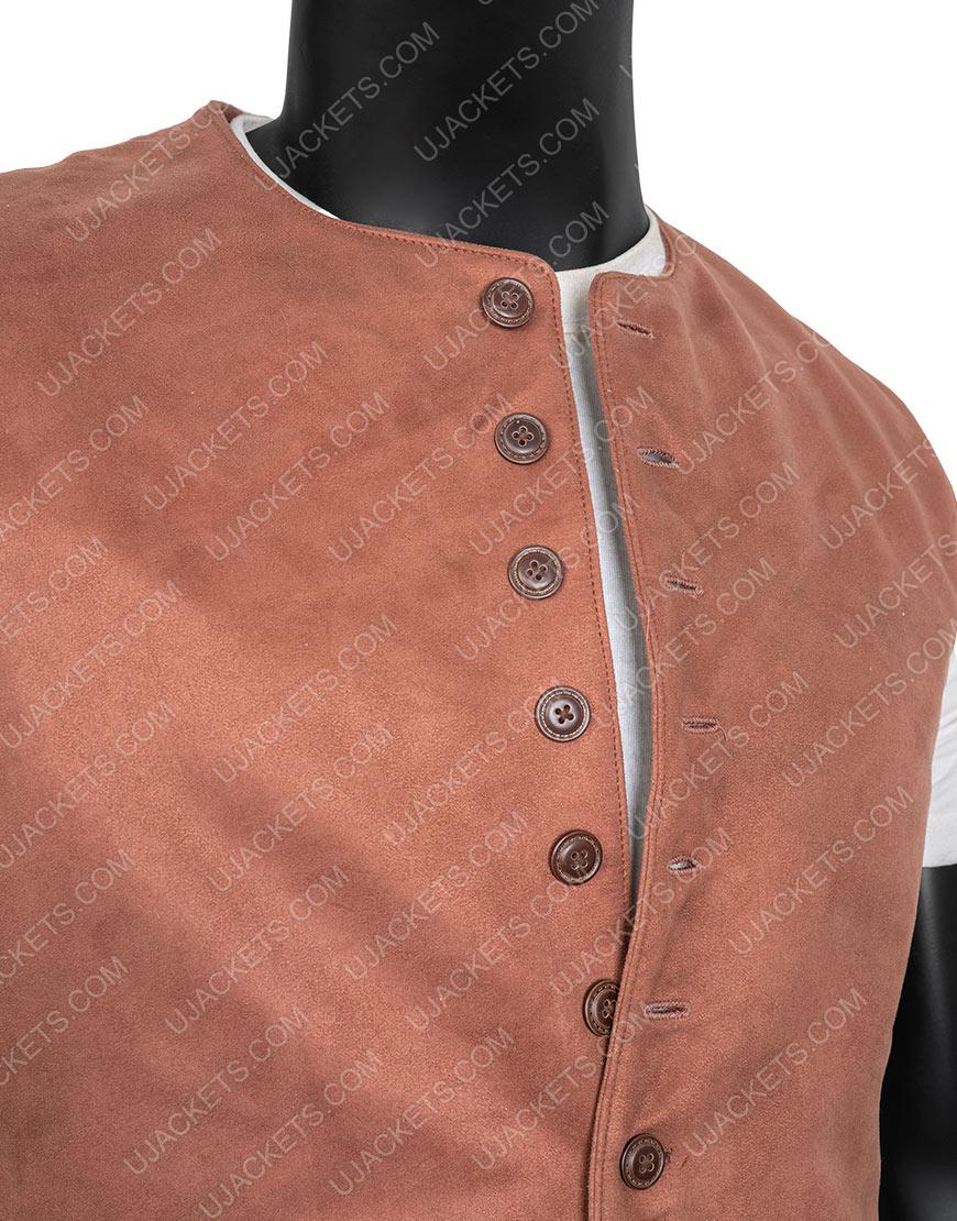 TV-Series Outlander S03 Jamie Fraser Brown Vest