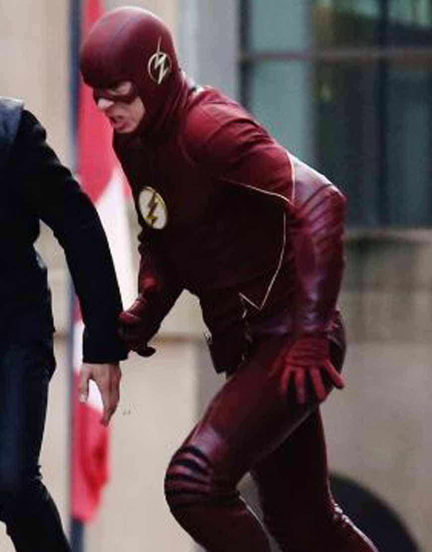 The-Flash-S07-Grant-Gustin-Leather-Jacket