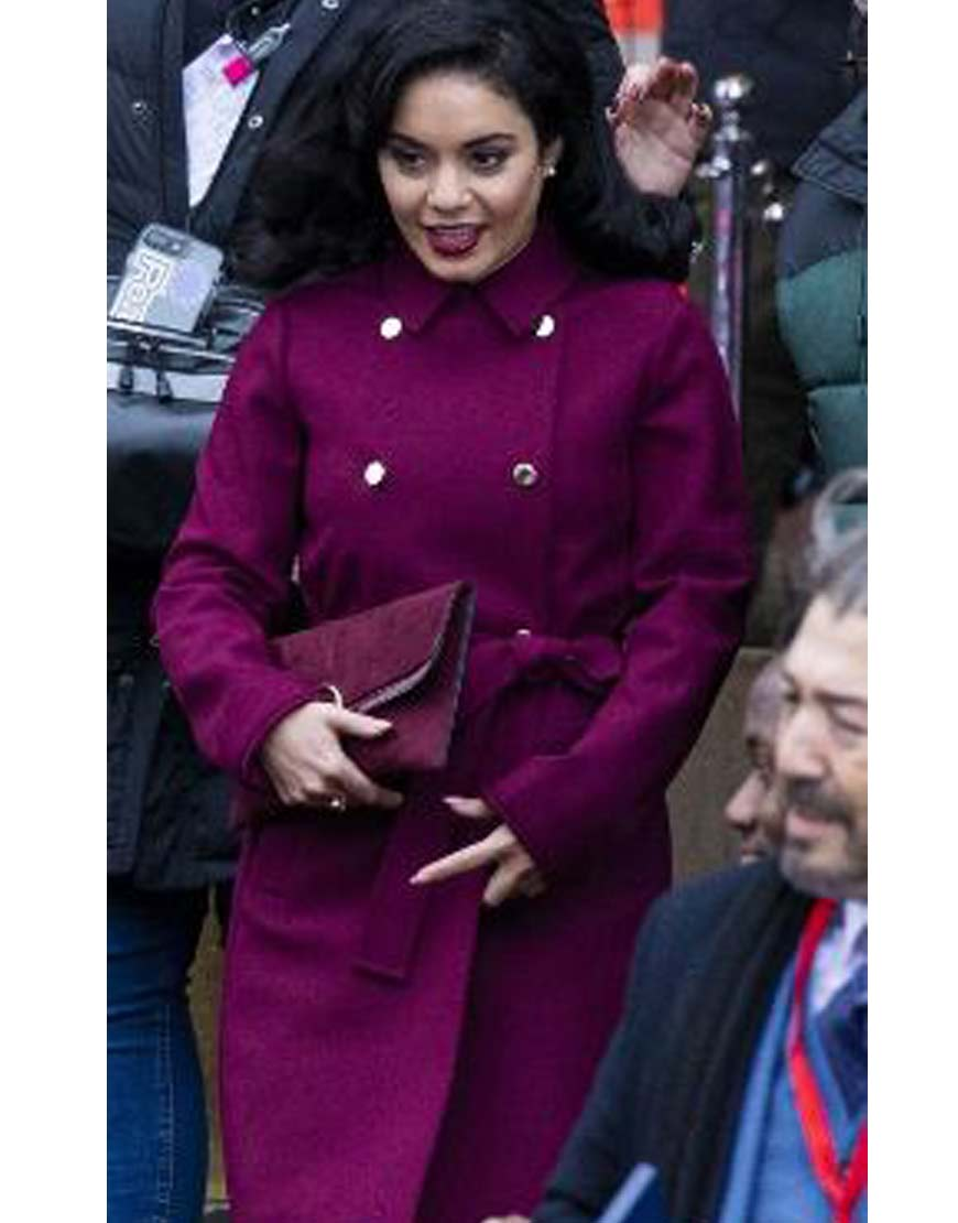 The-Princess-Switch-Switched-Again-Vanessa-Hudgens-Purplr-Coat