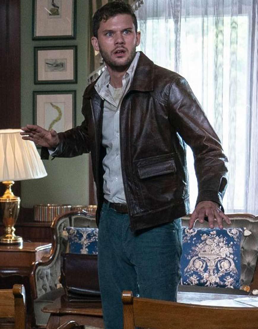 Treadstone-Jeremy-Irvine-Brown-Leather-Jacket