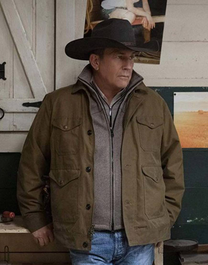 Yellowstone-S03-John-Dutton-Brown-Cotton-Jacket
