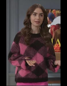 Emily In Paris Lily Collins Sweater