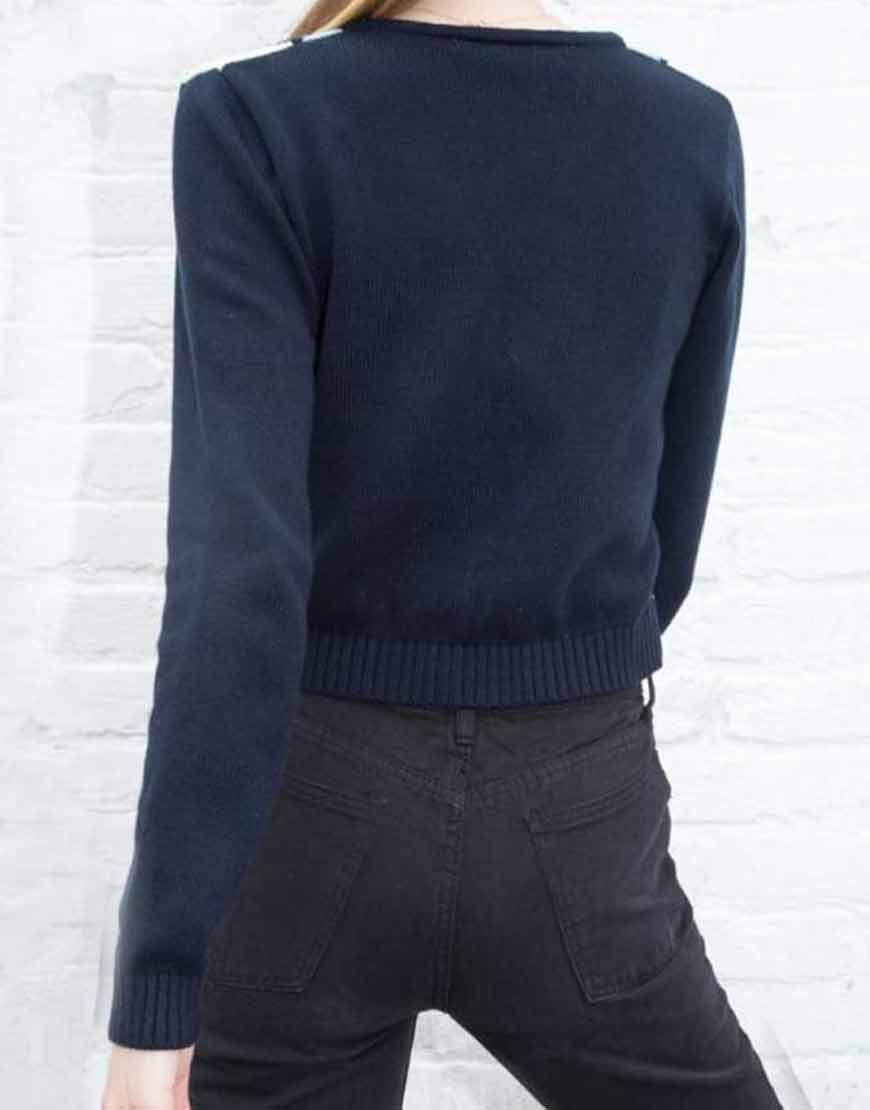 Amalia-Yoo-Grand-Army-LeilaKwan-Zimmer-Navy-Sweater