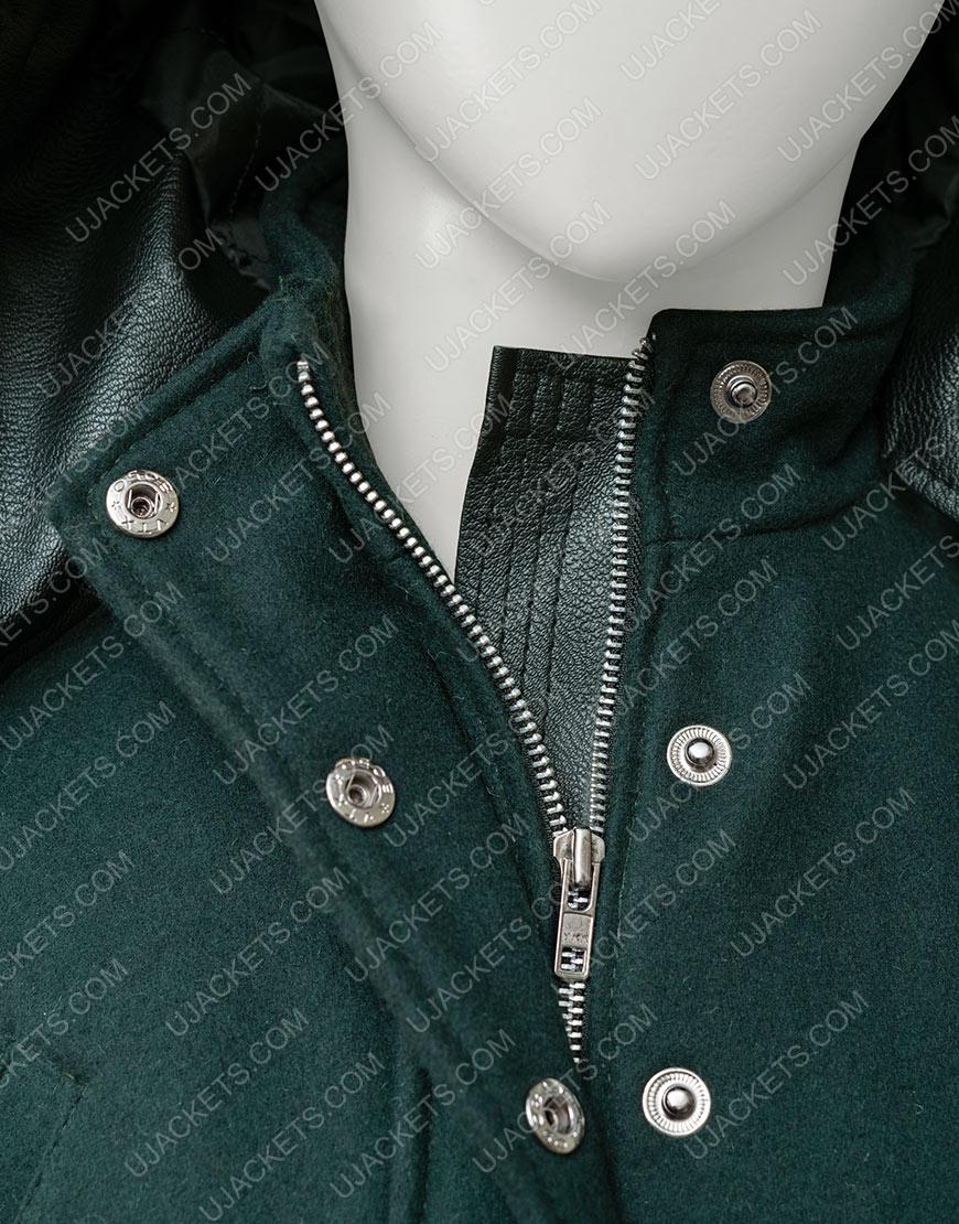 Amber Stevens West Christmas Unwrapped Charity Jones Coat