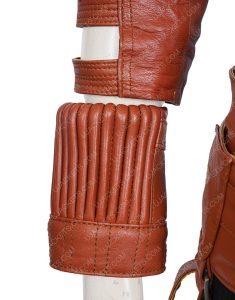 Avengers Endgame Karen Gillan Brown Leather Jacket
