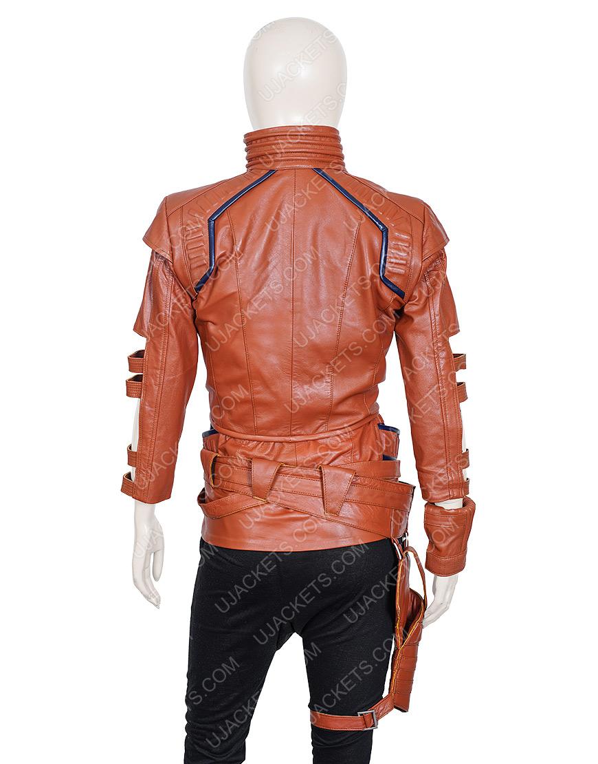 Avengers Endgame Karen Gillan Nebula Leather Jacket