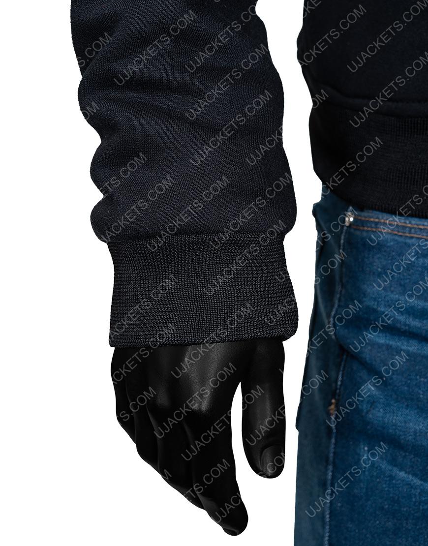 Black Bomber Klux Buster Bomber Jacket