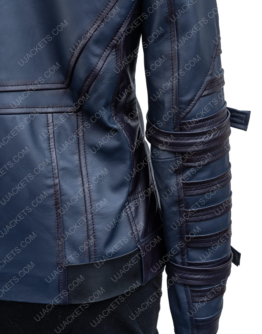 Bucky Barnes The Falcon And The Winter Soldier Sebastian Stan Leather Jacket