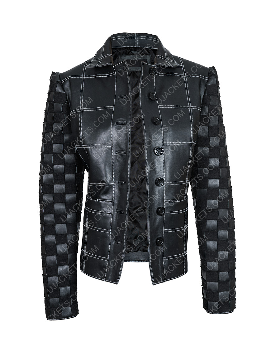 Cruella De Vil Cruella Black Leather Jacket