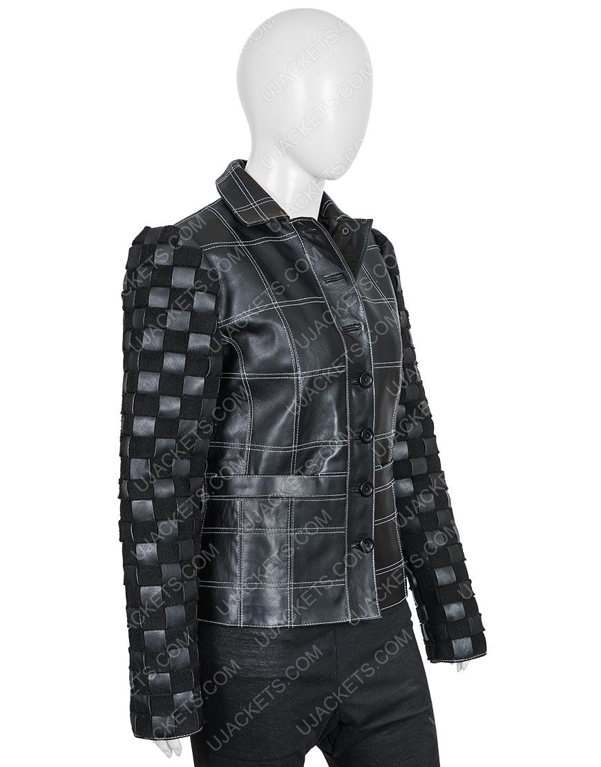 Cruella De Vil Emma Stone Cruella Black Leather Jacket
