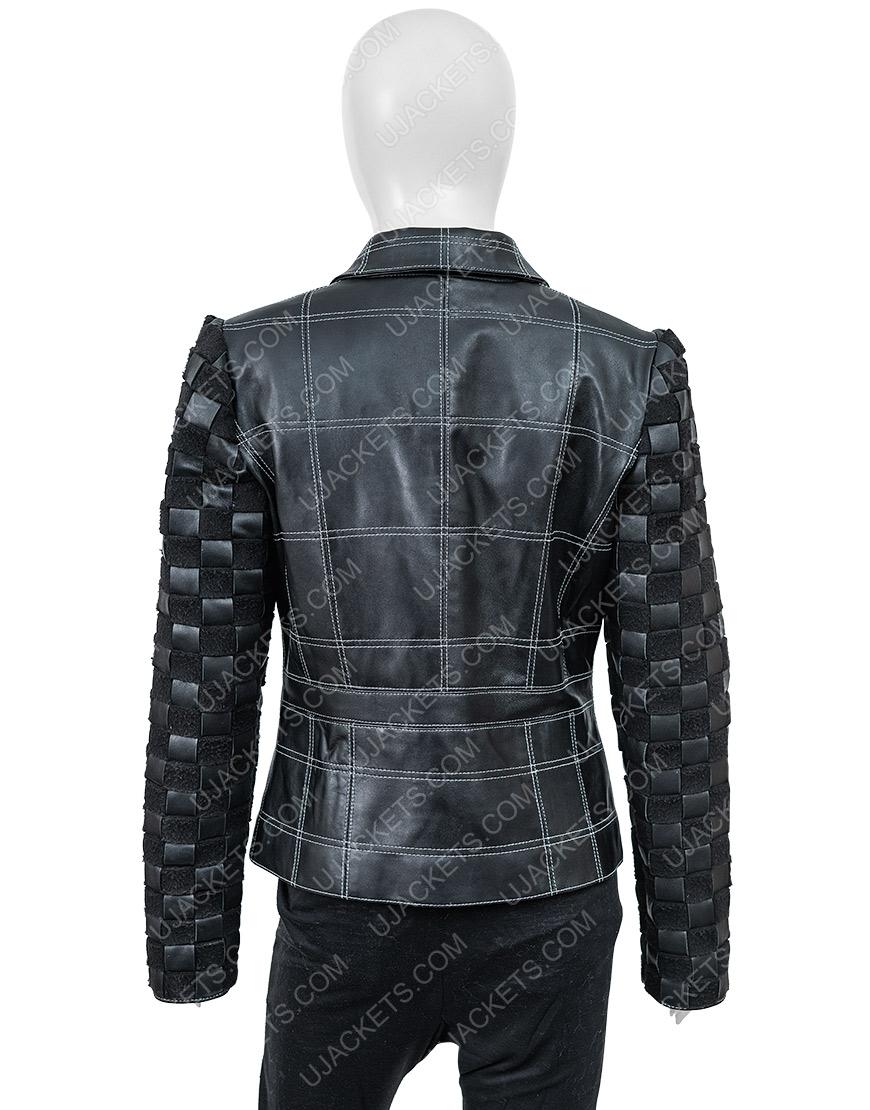 Cruella De Vil Emma Stone Cruella Leather Jacket