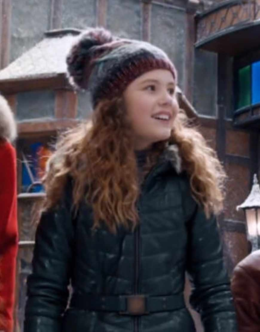 Darby-Camp-The-Christmas-Chronicles-2-Green-Jacket