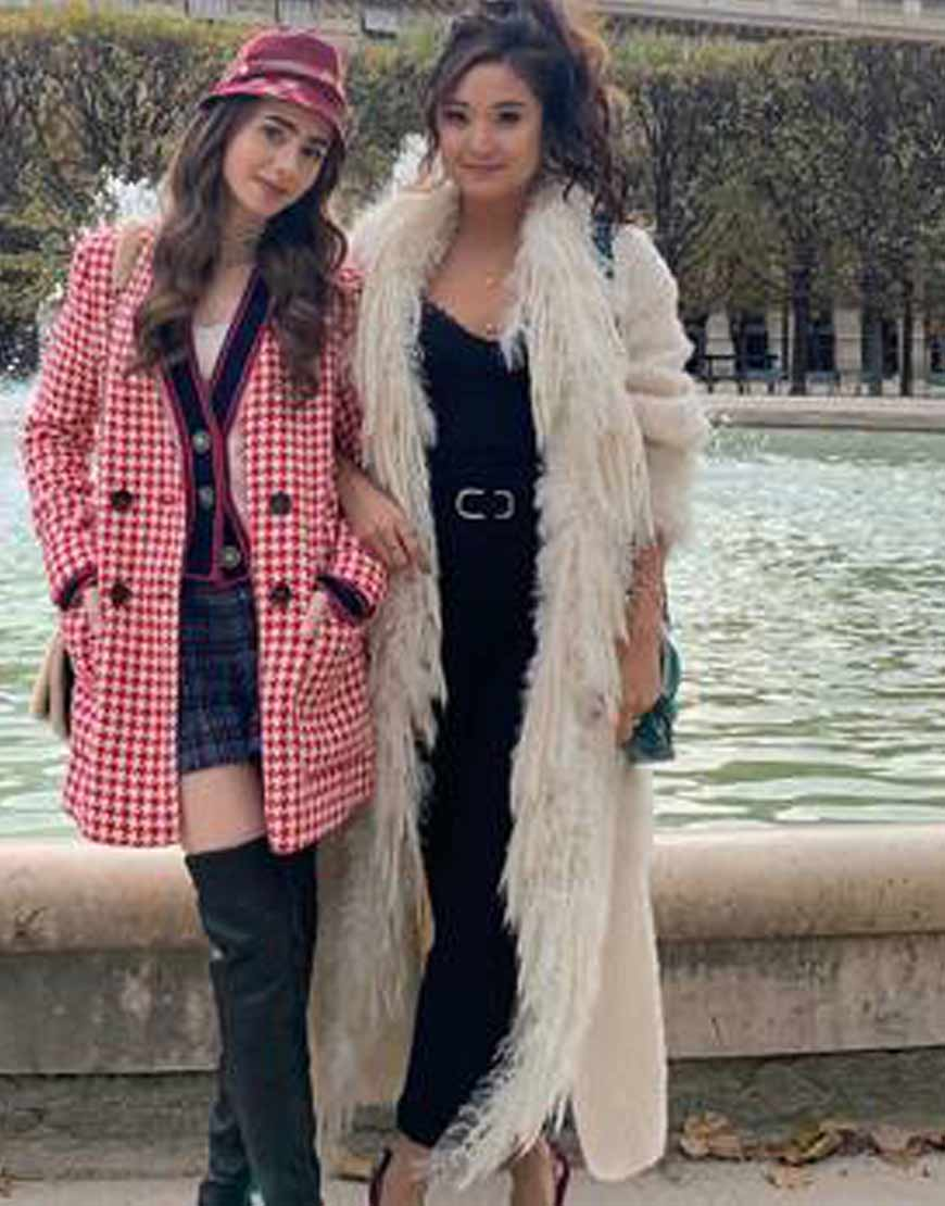 Emily-In-Paris-Ashley-Park-Coat